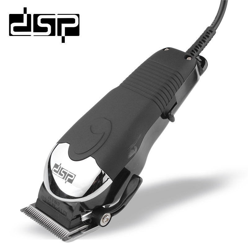 DSP Professional Electric Hair Clipper Titanium Steel Blade Hair Trimmer Barber Cutting Machine Hair Shaving Tool