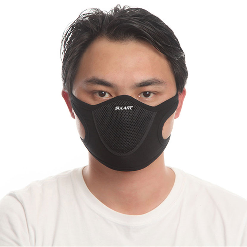 Anti Dust Mask Black Filter Outdoor Sports Anti-pollution 1