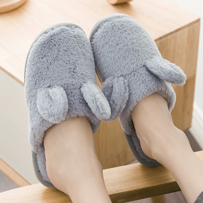 2018 Fashion Winter Women Slippers Casual Warm Home Indoor Plush Slippers Female Ladies Cotton Faux Fur Women Winter Shoes CJ267 fongimic comfortable women slippers women casual indoor plush shoes autumn winter warm fashion slippers hot sale flat slippers