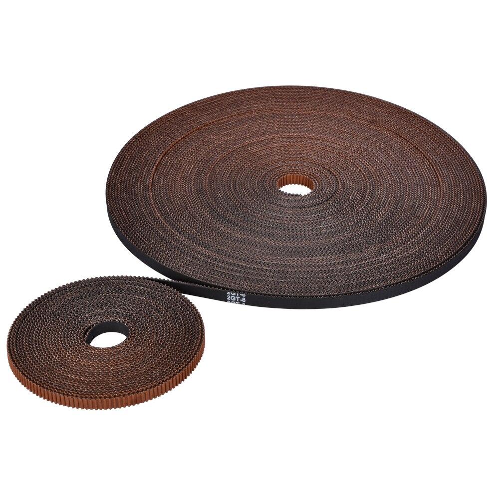 High Quality Synchronous Belt GT2 Width 6MM Rubber Open Timing Belt Wear Resistant For Diy Kossel Reprap 3D Printer Parts