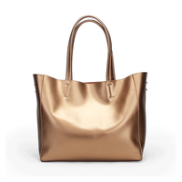 Europe and the United States style new leather solid color handbags simple and stylish fashion bulk kits square hand held should