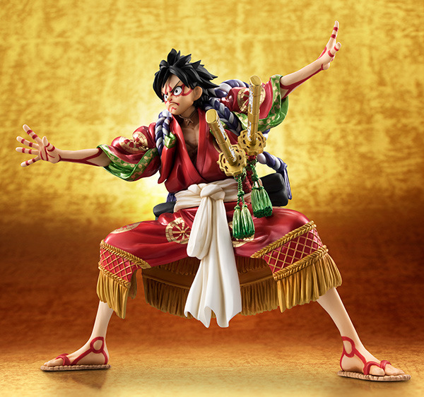 Action Figure One Piece Kabuki Edition Luffy Pvc 17cm 1/8 Scale Painted Monkey D Luffy Cartoon Dolls Collectible Model Anime Toys & Hobbies