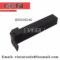 Free shipping QFHD2525R22 86L cnc cutting tools Surface Grooving tool holder matched