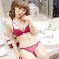Sexy Bandage Bra Set Womens Lace Briefs Bra Underwear Padded Lingerie Outfit Set