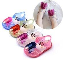 Mini sapatos de gelatina melissa, sapatos para bebês meninas de 11.8-20.8cm, 2020