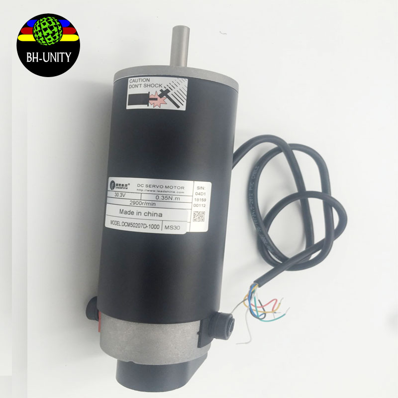 Hot sales!!!Leadshine DC servo motor of model DCM50207D-1000 of Myjet/JHF/Roland/Mimaki/yaselan eco slovent printer leadshine gongzheng gzc3212dp gzcs3206 3208ds printer dc servo motor drive dcs810