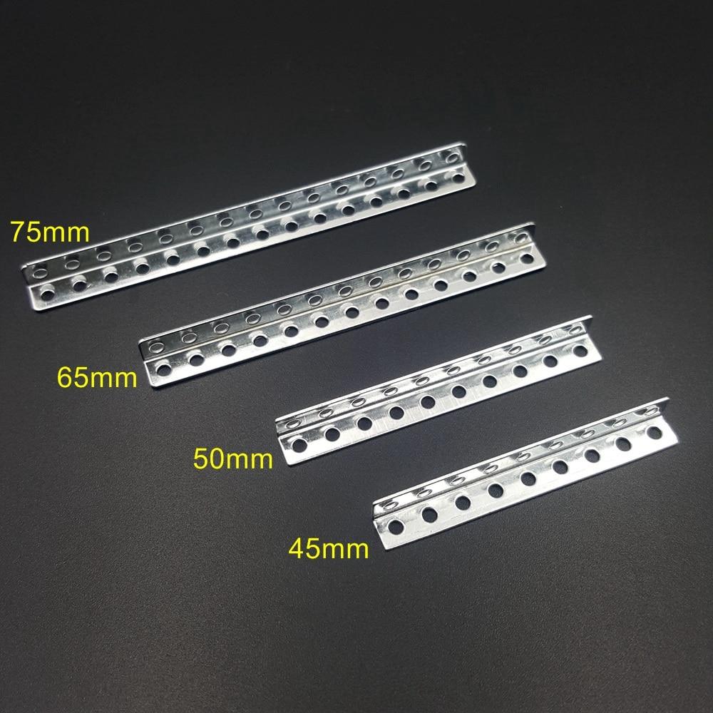 5PC/lot Angle Iron Bracket Corner Brackets Corner Code Perforated Shaft Bracket For DIY Model Making