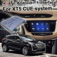 Android GPS navigation box for Cadillac XT5 etc video interface mylink CUE intellilink system with wireless Carplay