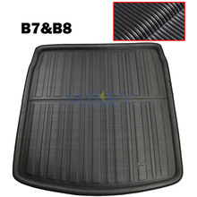 Achter Boot Liner Kofferbak Cargo Floor Mat Tray Protector Voor Audi A4 S4 RS4 B7 B8 Sedan 2005-2016 2008 2009 2010 2011 2012 2013 2014(China)