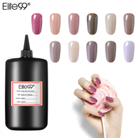 Elite99 Nude Gel Nail Polish Soak Off UV Gel 250ml Top Base Coat 24 Pure Colors Enamel Art Manicure Primer Lucky Lacquer