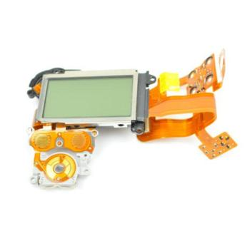 new for Nikon D3 Top Cover LCD Screen With Flex Replacement Repair Part