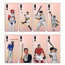 baseball cartoon Bryce Harper soft silicone phone cases cover Capinha Coque fundas capa for Huawei P smart  2019 P20 P30 P10 Pro