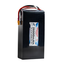 2017 New Arrival XT60 22.2V 22000mAh 6S 25C Lipo Battery for RC Drone