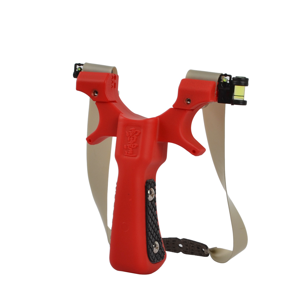 High Quality Slingshot Flat Rubber Band Outdoor Shooting Powerful Hand-held Bow