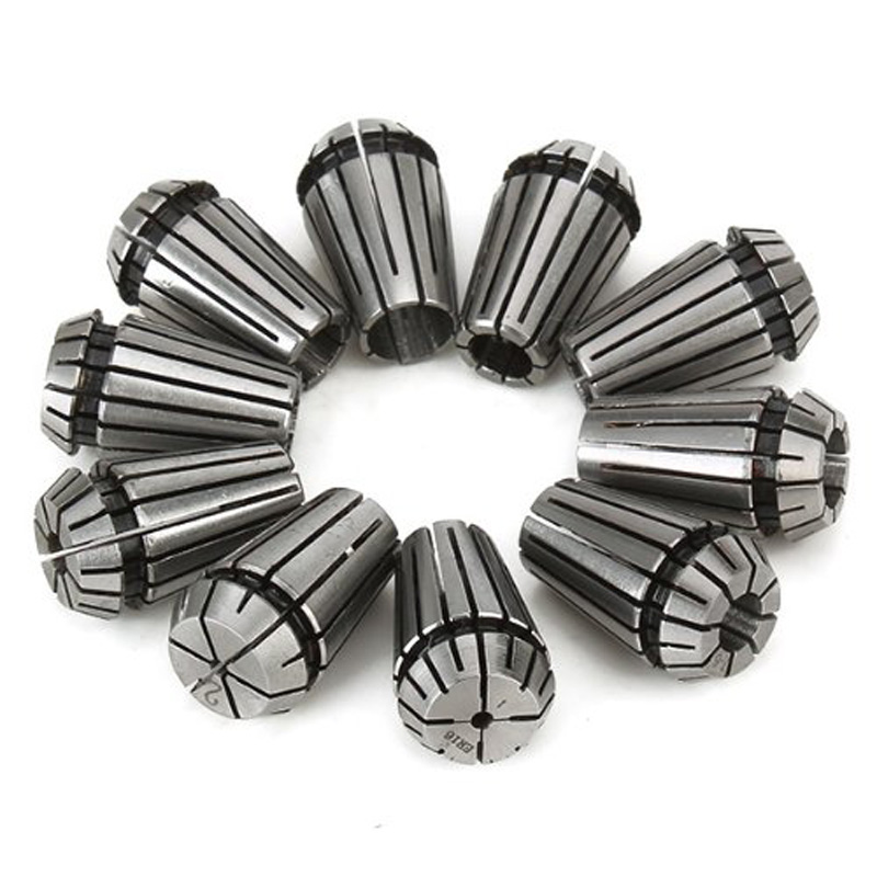 10pcs 1-10MM Super Precision ER16 Collets CNC Chuck Milling Lathe Tool & Workholding ALI88 купить