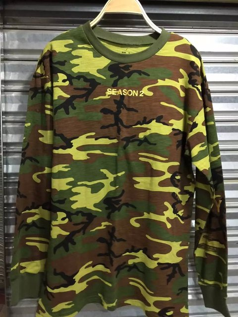 Camo sweatshirt streetwear fashion city trends kanye west season 2 camo sweatshirt streetwear fashion city trends kanye west season 2 clothes men shirt vacuum package couple stopboris Gallery