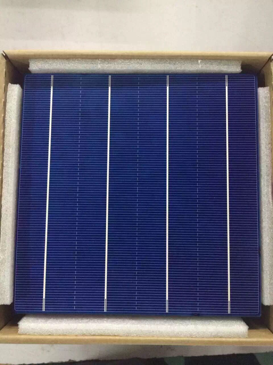 10 Pcs 45W 156MM Efficiency Photovoltaic Polycrystalline Silicon Solar Cell 6x6 Prices Cheap Grade A For DIY PV Poly Solar Panel