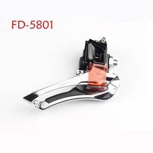 Image 3 - Shimano 105 FD R7000 5800 5801 Voorderailleur 2X11 Speed Fiets Voorderailleur 5800 R7000 Braze Op 31.8 Mm 34.9 Mm Klem Band