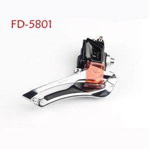 Image 3 - Shimano 105 FD R7000 5800 5801 ön vites 2x11 hız bisiklet ön vites 5800 R7000 lehim 31.8MM 34.9MM kelepçe bant