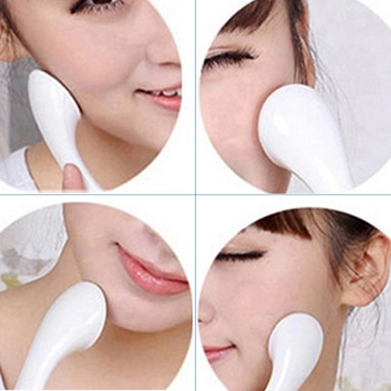 Woman Anti wrinkle Whiten Ionic Face Massager Cleanser Roller Ion Makeup Tool in Massage Relaxation from Beauty Health