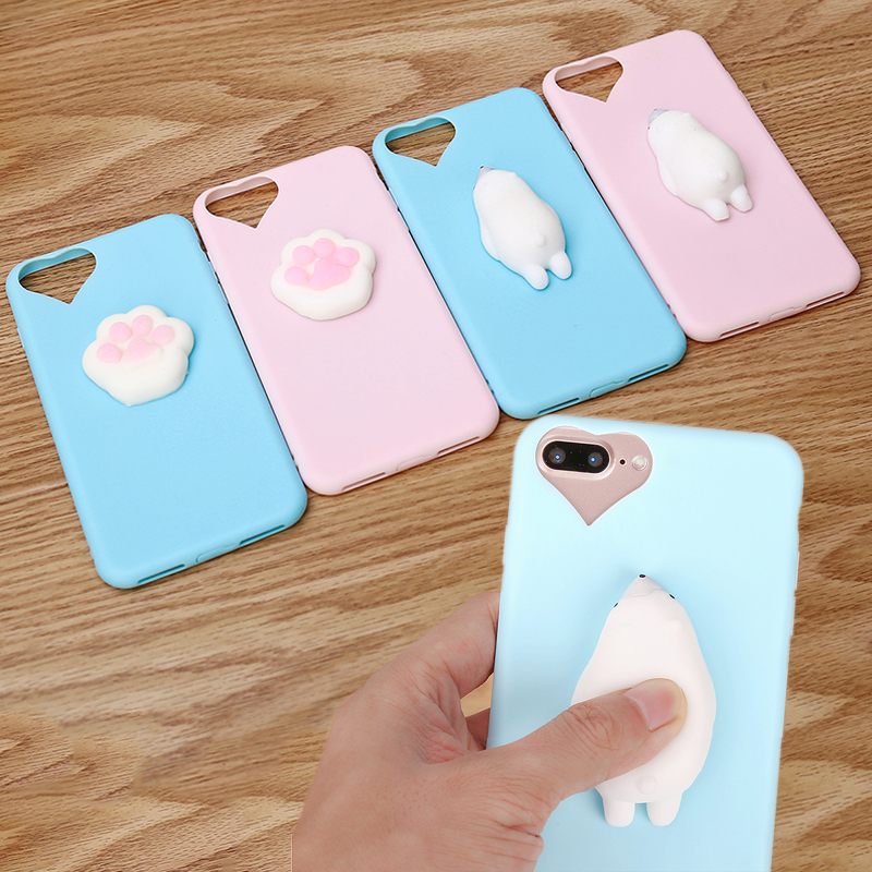 Squishy Bread Iphone 6 Case : Squishy Phone Case For iPhone 7 7 Plus 6 6s Funny Cute Housing 3D Soft Silicone TPU Cover ...