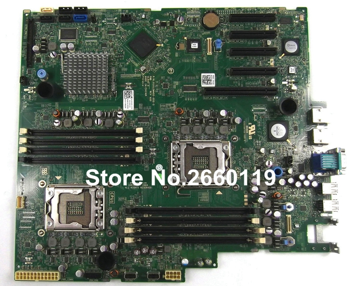 For T410 M638F 0M638F CN-0M638F server motherboard, fully tested