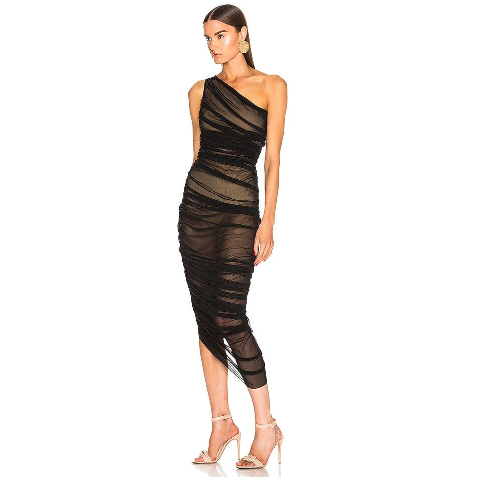 Party Dress Sleeveless Club