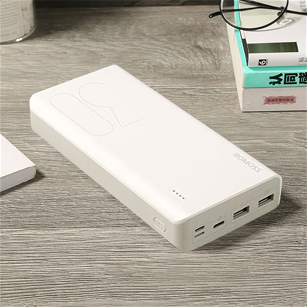 ROMOSS 30000 mAh Sens 8 charge rapide batterie externe Pour téléphones portables Tablet pièces Powerbank Pour iphone 6 6s 7 8 Plus Pour Xiaomi 6 5X