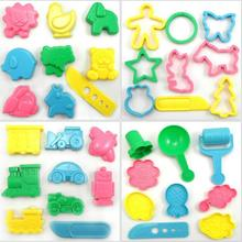 9pcs BOHS font b Play b font font b Dough b font Playdough Polymer Clay Vehicles
