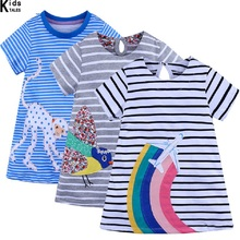 Girls Dresses 2020 New Brand European and American Style Cute Clothes For Baby Girls Princess Girls Dress 2017 brand new girl dress winter kids clothes european and american style leaf pettern design for girls clothes 3 8y