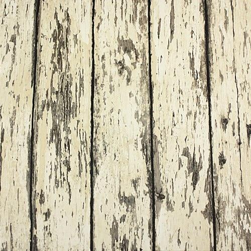 Weathered Rustic Barn Wood Grain Look Plank Vinyl Wallpaper Rolls Background Wall Decorative Vintage