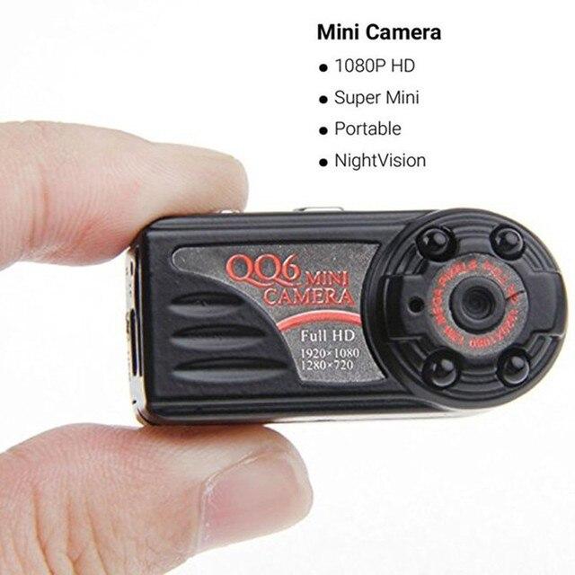 karue  HD QQ6 Mini Camera mini DV infrared night vision digital camera super small camera