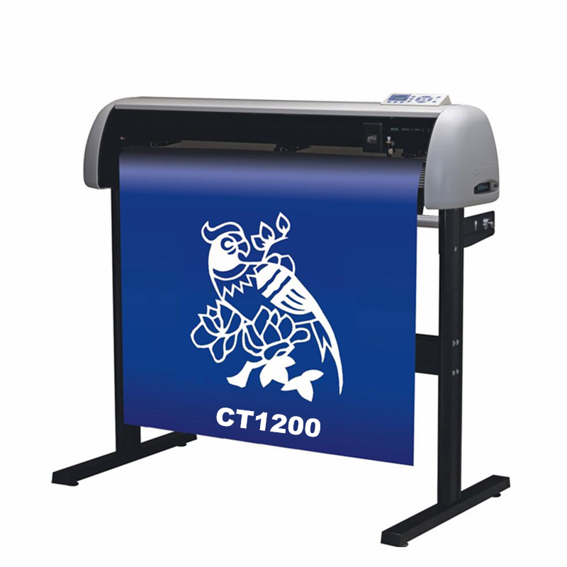 630 To 1200mm Digital Vinyl Sticker Cutting Plotter Machine For Advertising Interior Decoration
