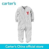 Carter S 1pcs Baby Children Kids Terry Zip Up Sleep Play 115G283 Sold By Carter S