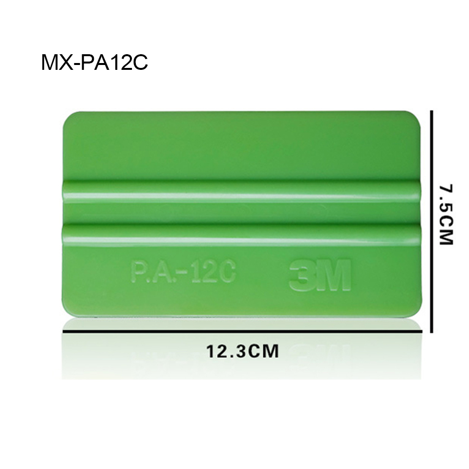 Image 3 - Free Shipping Professional Tint Tool 13.2*7.5cm Abrasion Resistant Soft Vinyl Plastic Scraper For Car Wrap PA 12C Whole Sale-in Car Stickers from Automobiles & Motorcycles