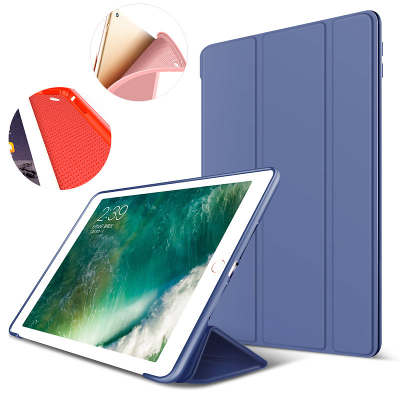 ZOYU PU Leather Case For ipad air case cover Fold Stand Magnetic Flip Tablets case For ipad air 1 case Soft edge for iPad 5 nice soft silicone back magnetic smart pu leather case for apple 2017 ipad air 1 cover new slim thin flip tpu protective case