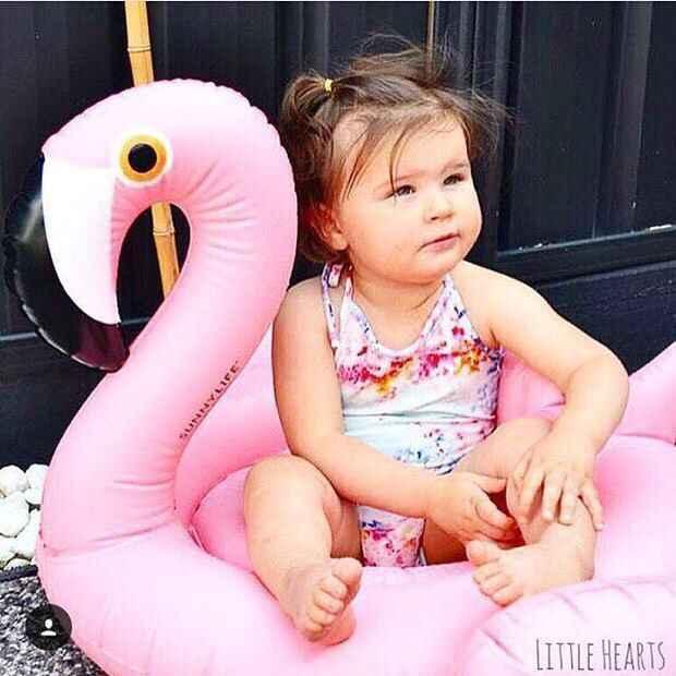INS Fun надувной плот Фламинго плавать ming кольцо плавательный круг Лебедь игрушки для купания Дети Лето вода гигантский бассейн трубка
