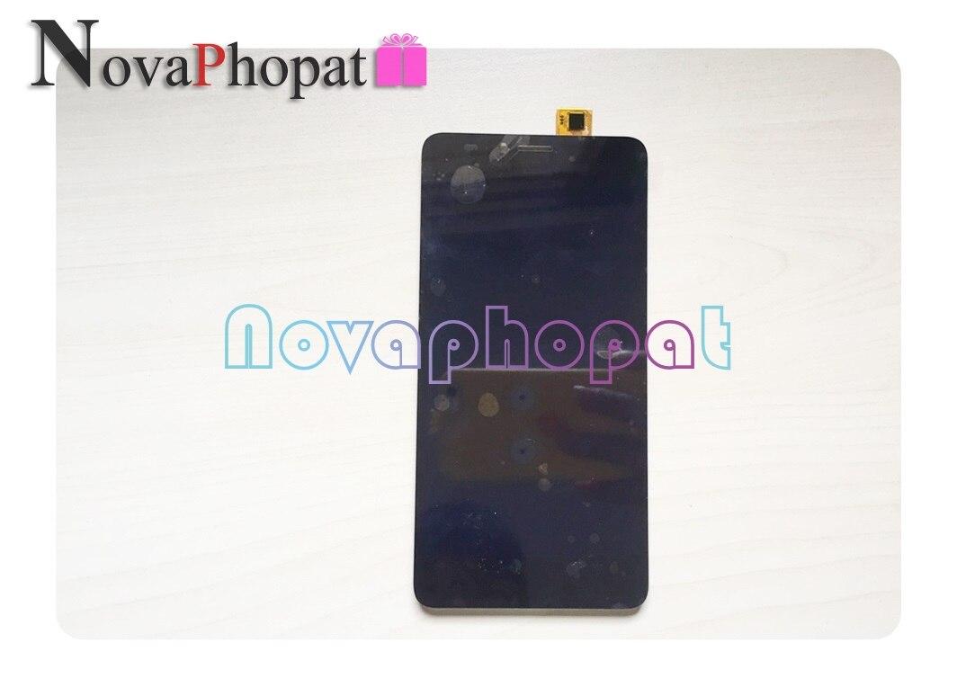 Novaphopat Pour BQ 5594 BQ-5594 BQS 5594 BQS-5594 Grève Puissance Max LCD Écran D'affichage Avec Écran Tactile Digitizer Assemblée Complet