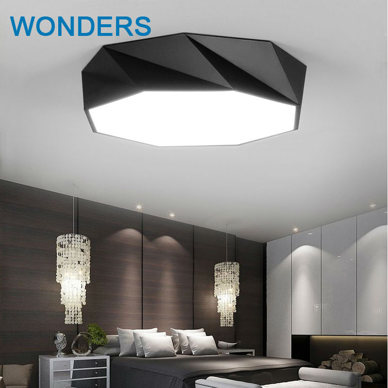 Modern artistic Minimalism LED rhombus Ceiling Light round Indoor down Lamp creative personality study dining room modern minimalism led ceiling light square indoor down light ceiling lamp creative personality study dining room balcony lamp