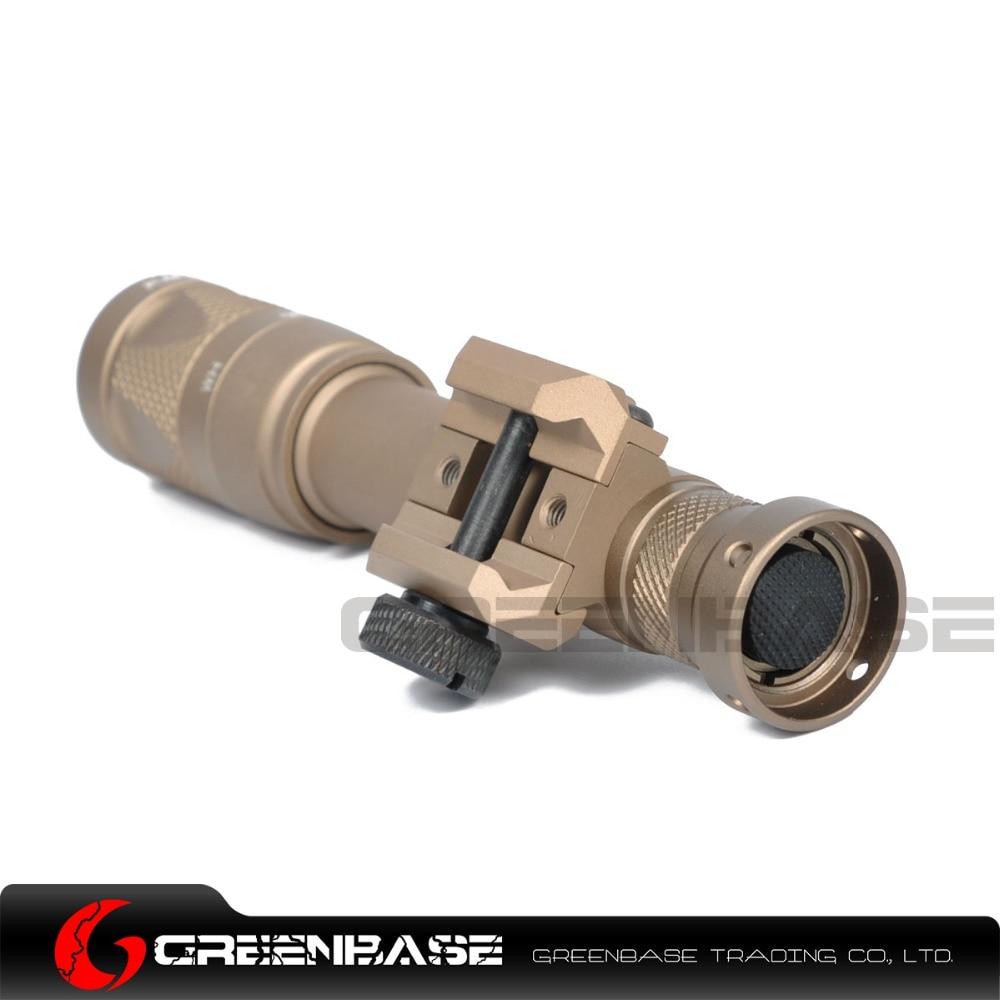 Greenbase m600v-ir Scout белый свет и ИК-Выход оружие свет светодиодный фонарик Охота 400 люмен flashtorch 20 мм Rail