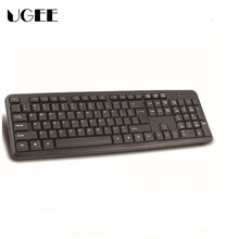 Classic Standard USB Wired Gaming Keyboard Thin Mute Waterproof Desktop Keyboard For Home Bussiness Computer XP MAC PC LOL DATA