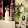 A Line Wedding Dresses Pregnant Spring Bridal Maternity Gowns Cap Sleeve V Neck Chiffon Wedding Dresses vestido de noiva