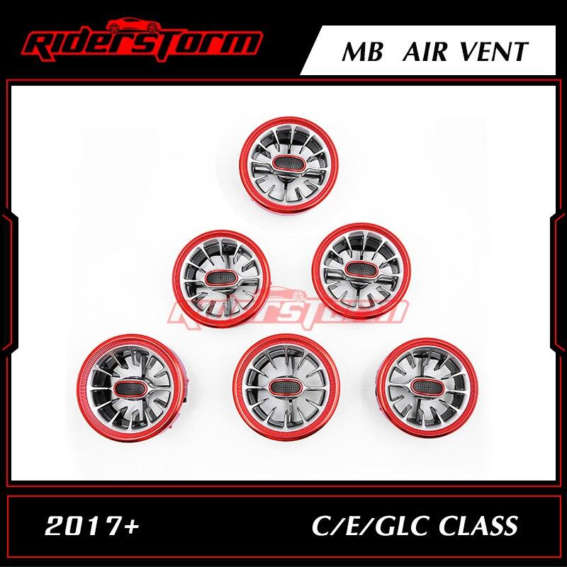 12.12 promotion For w205 w213 X253 C class C200 C180 E class E43 E450 GLC class car changeable parts  air vent