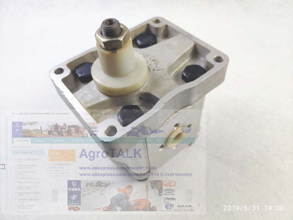 FIAT tractor the hydraulic pump A25XP4MS