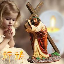 11*5*12 см резиновые христианские ювелирные изделия крест автомобиль церковная католическая свадьба подарок Рождество Библейский процесс украшения дома 1 шт A399