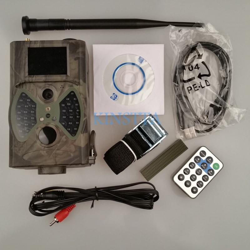 Suntek Hunting Camera HC 300M 940NM Video Cameras Gprs Trail Qildlife  Camera 12MP GPRS MMS EMAIL 1080P HD-in Hunting Cameras from Sports &