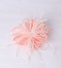 Material fascinator headpiece hair accessories