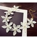 white Choker Collar Necklaces Women Fashion Flower Necklaces&Pendants Lace Collier Bijoux Boho Jewelry