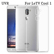 UVR For LeEco LeTv Cool1 Case Clear Dual TPU Cover Cases Clear Soft Silicon For LeEco Cool 1 Cover Free Shipping