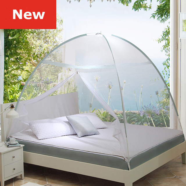 2017 New Arrival Travel Tent Mosquito Netmosquito Net TentsDouble Bed Mosquito NetGreen : double bed tents - memphite.com